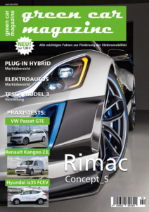 green car magazine - Ausgabe Juni / Juli 2016