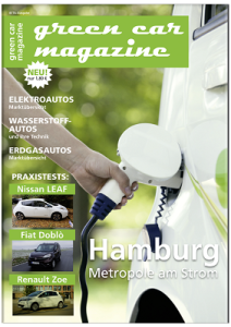 Jahresabonnement green car magazine