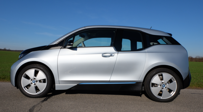 BMW i3 – Stay on these roads