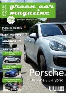 green car magazine Ausgabe August/September 2016