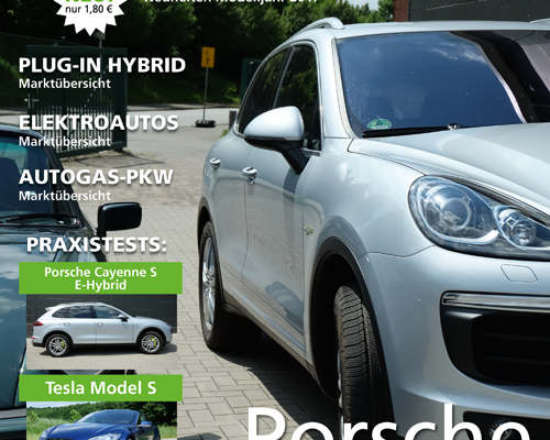 green car magazine Ausgabe August/September 2016