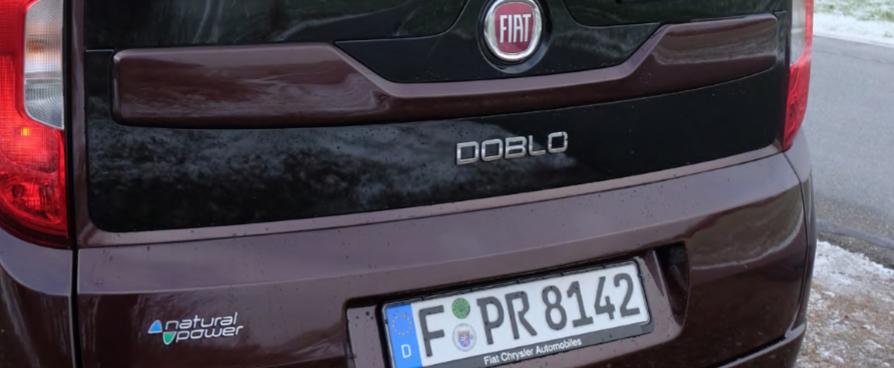 Erdgasauto Fiat Doblo