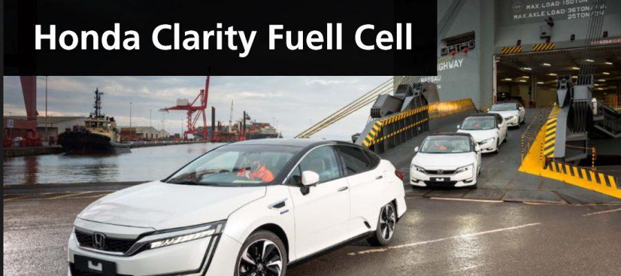 Honda Clarity Fuel Cell - Bildquelle: Honda