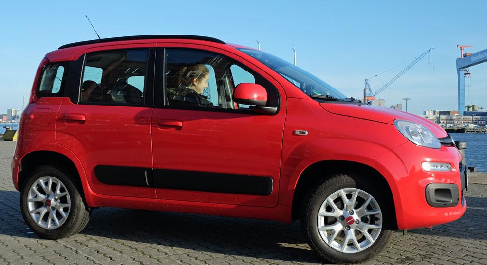 Fiat Panda Seitenansicht