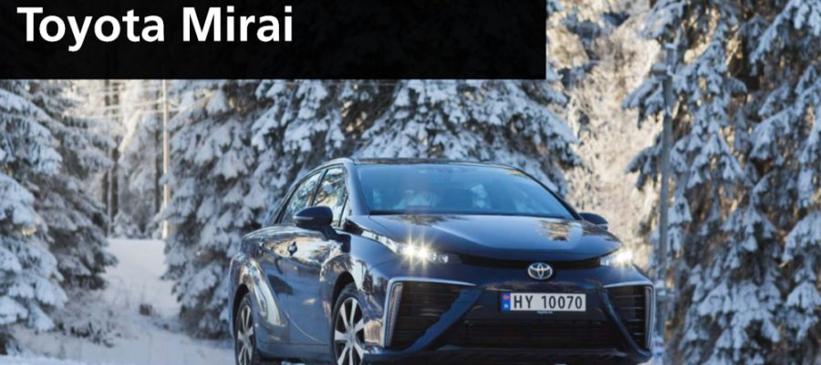 Toyota Mirai - Copyright Toyota