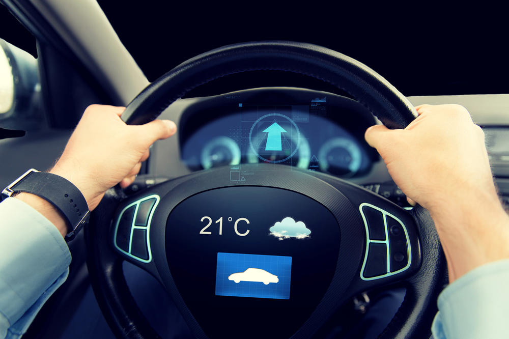 Klimasensoren im Auto - Copyright Syda Productions @ fotolia.com