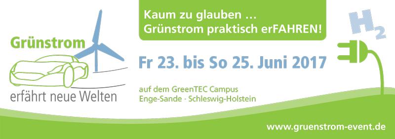 Grünstrom-Event 2017 - Logo