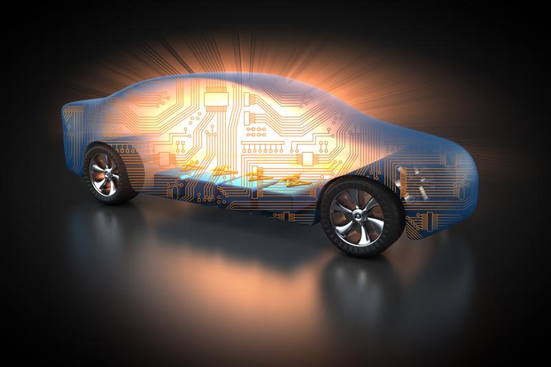 Schema eines Elektroautos - Copyright Patrick P. Palej @ fotolia.com