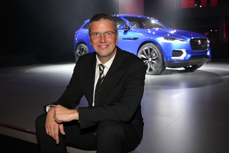Peter Modelhart - Copyright Jaguar Land Rover