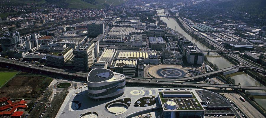 Luftbild Mercedes-Benz Werk Untertürkheim - Copyright Daimler