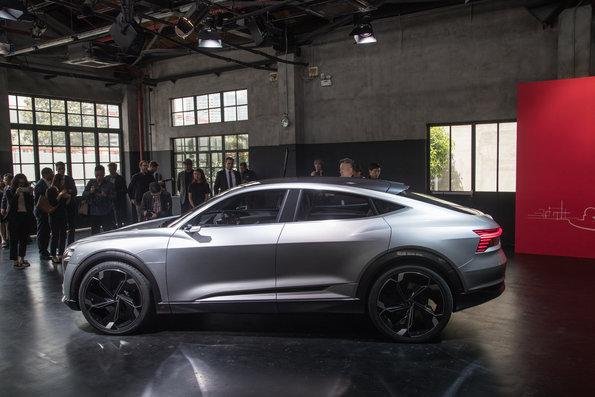 Audi e-tron Sportback concept world premiere Shanghai 20