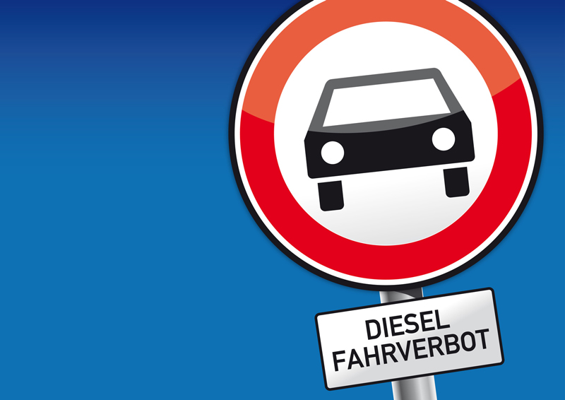 Dieselfahrverbote Sinnbild - Copyright Trueffelpix @ fotolia.com