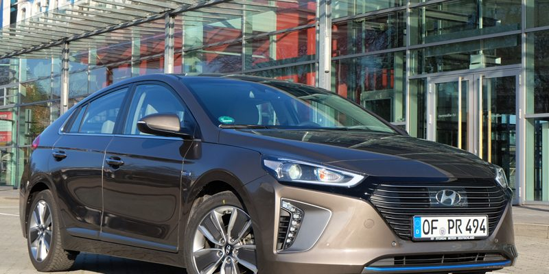 Hyundai Ioniq - Copyright green car magazine