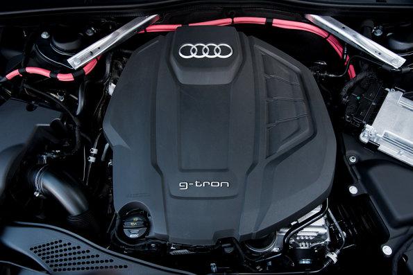 Audi A4 Avant g-tron - Copyright Audi