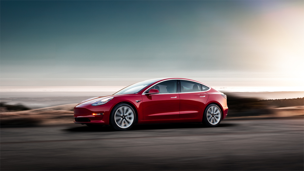 Tesla Model 3 - Copyright Tesla