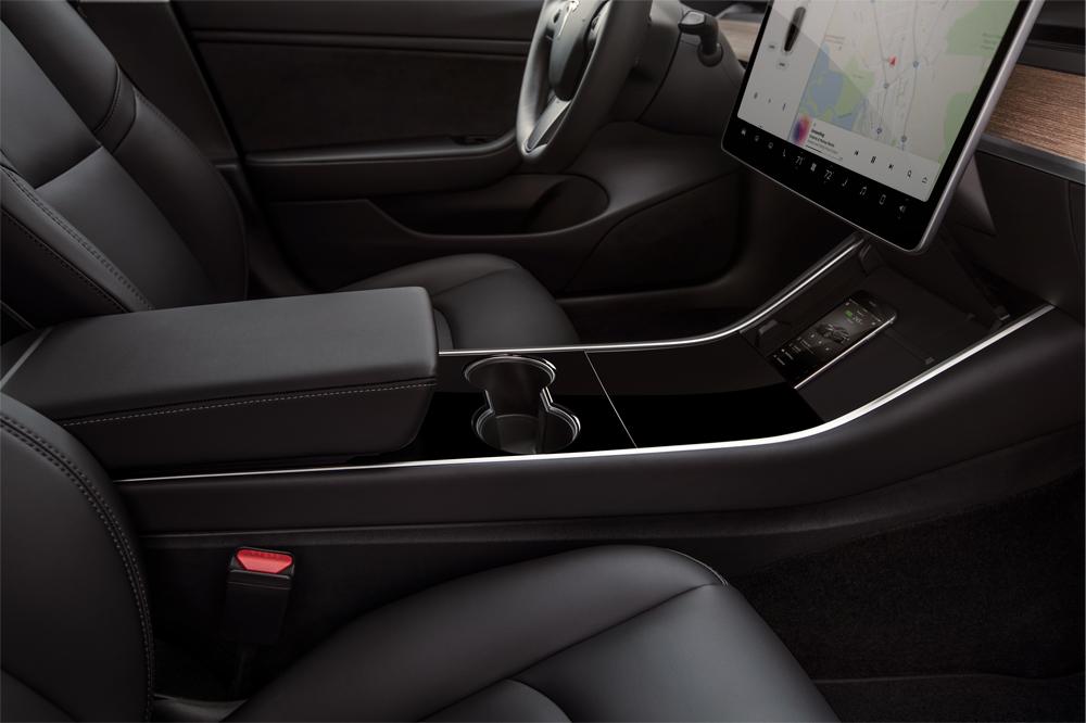 Tesla 3 Smartphone Dock - Copyright Tesla