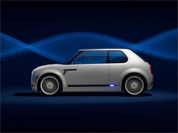 Honda Urban Ev Concept Und Honda Cr V Hybrid Prototyp Green Car