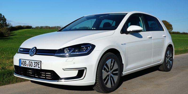 Praxistest Volkswagen e-Golf 2018