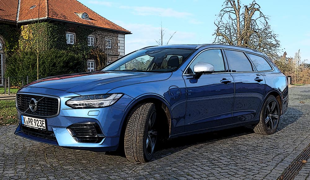 Praxistest Volvo V90 T8 Twin Engine 2018