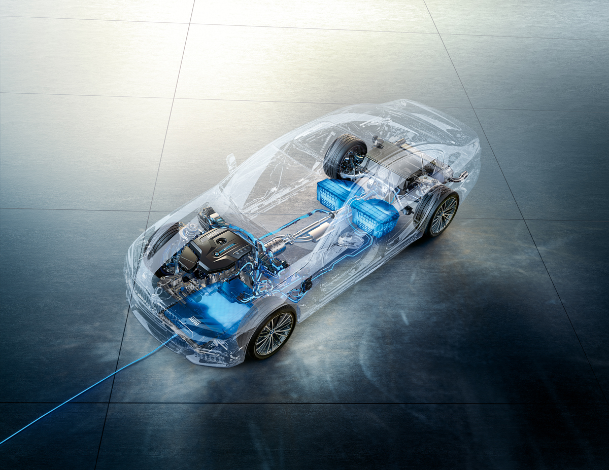 Marktstart für Wireless Charging im 530e iPerformance - Copyright BMW