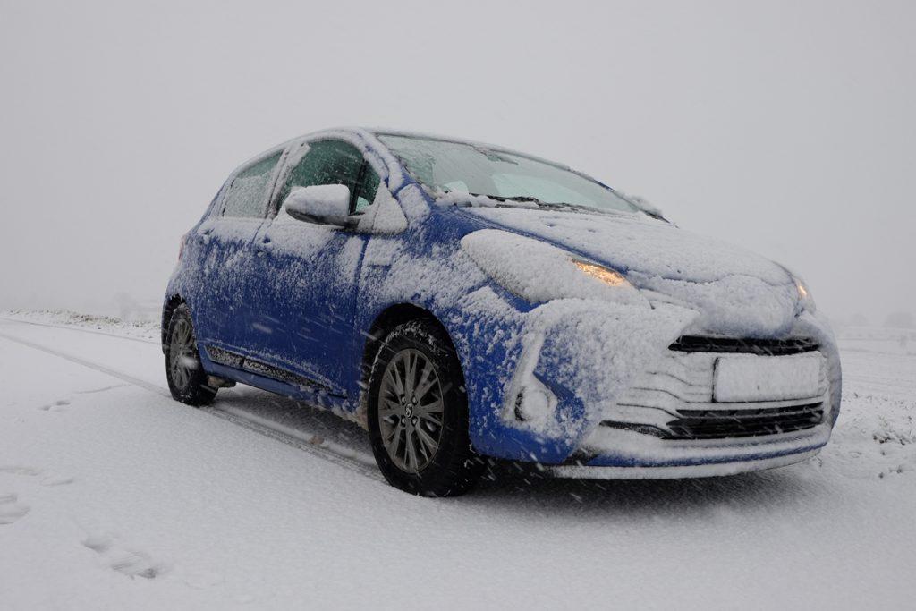Toyota Yaris - Test im tiefsten Winter 2018