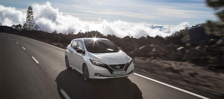 Nissan Leaf 2018 - Copyright Nissan