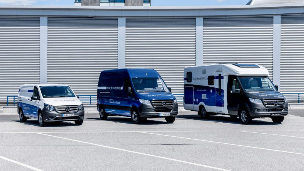 eVito , eSprinter, Fuel-Cell Wohnmobil - Copyright Daimler / Mercedes Benz