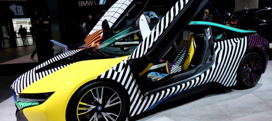 BMW i8 IAA 2017 - Copyright green car magazine