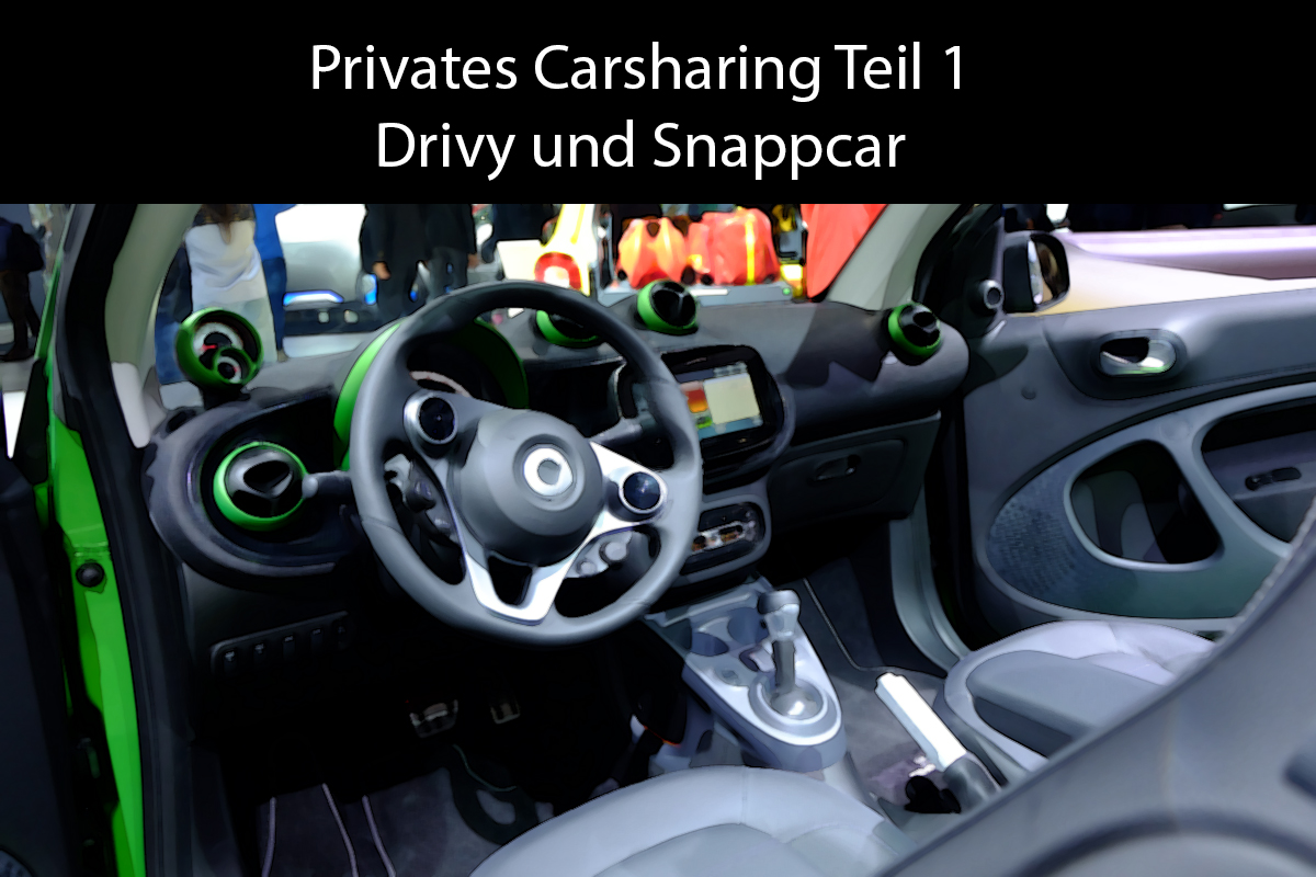 Privates Carsharing Teil 1 – Drivy und Snappcar