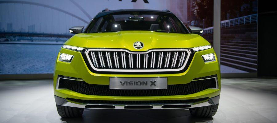 VISION X auf dem Genfer Automobilsalon - Copyright Skoda