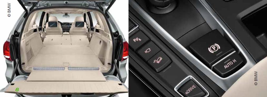 Details BMW X5i 40e - Copyright BMW