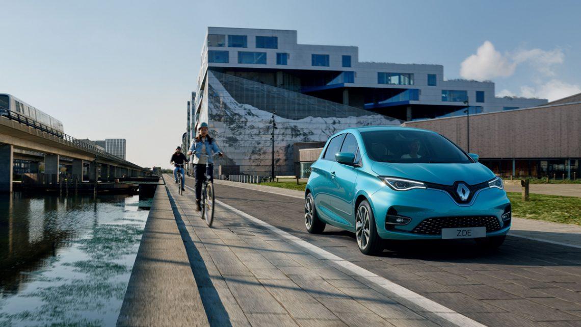 Renault Zoe Modelljahr 2020 - Copyright Renault