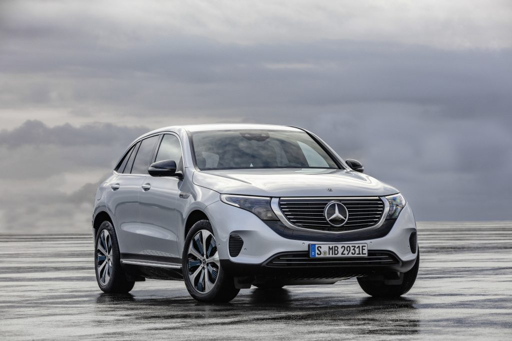 Mercedes-Benz EQC 400 4MATIC - Copyright Mercedes-Benz