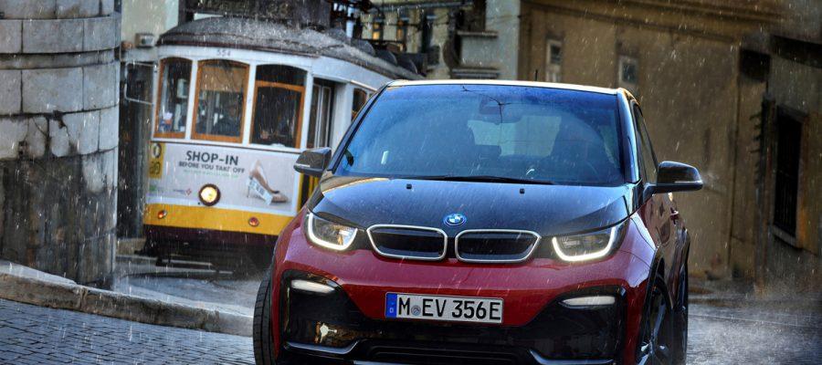 Titelbild BMW i3s - Copyright BMW