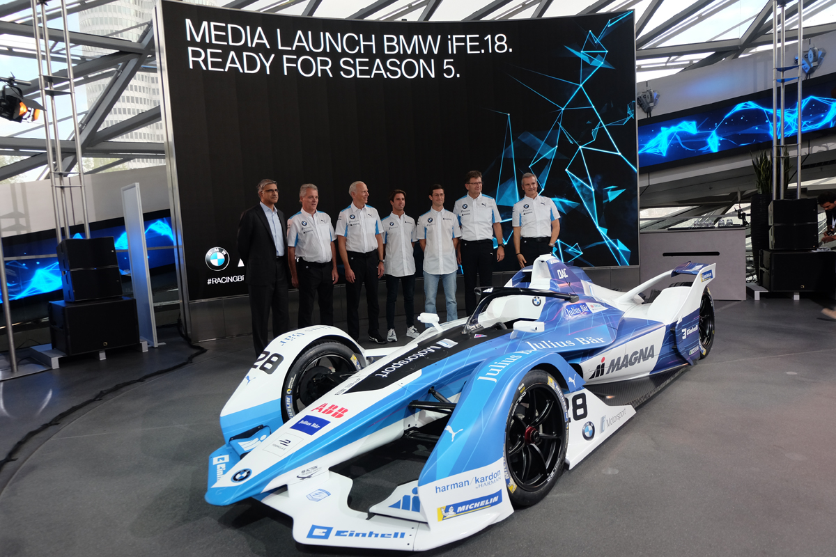 Medialaunch BMW Formel E - Copxright green car magazine