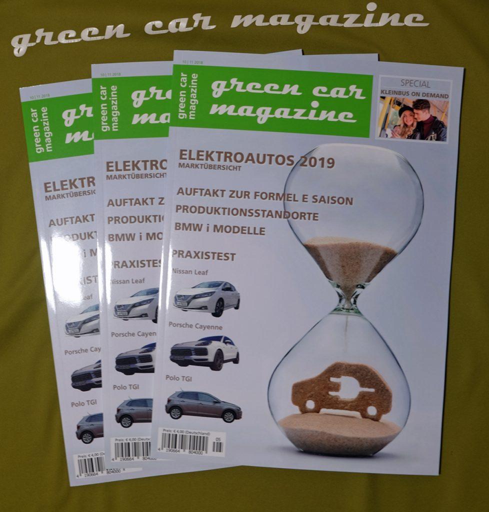Herbstausgabe green car magazine