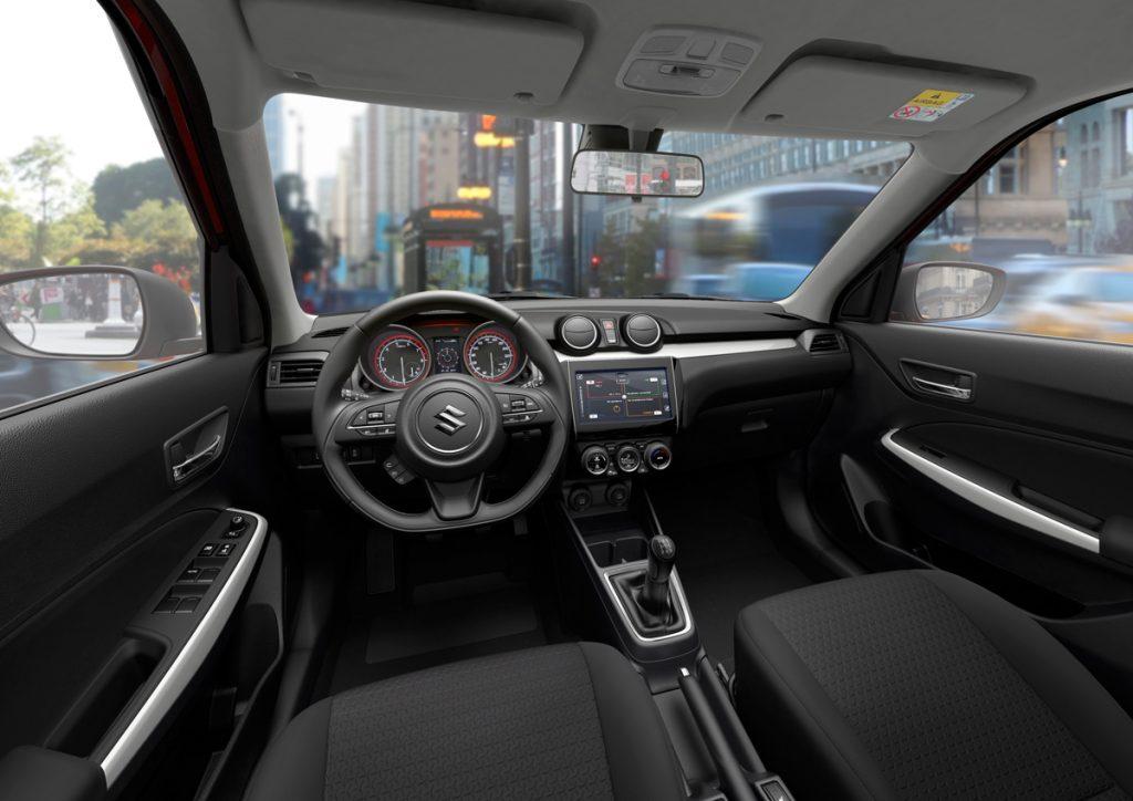 Suzuki Swift Mild Hybrid - Copyright Suzuki