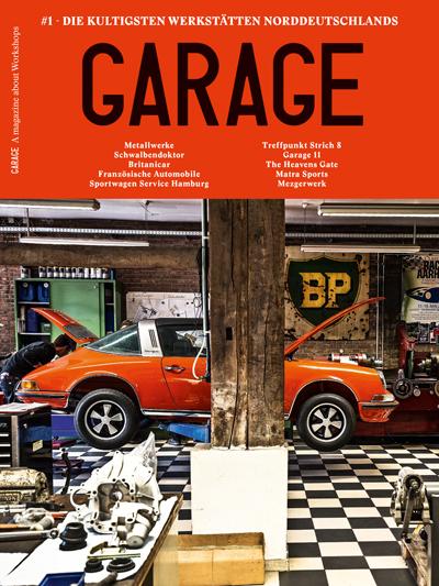 Cover Garage #1 - Copyright Delius/Klasing Verlag