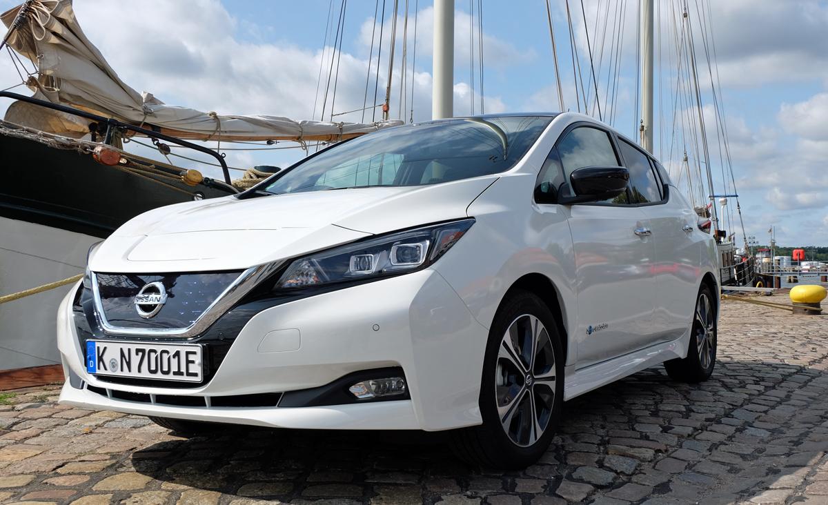 Nissan Leaf Modelljahr 2019
