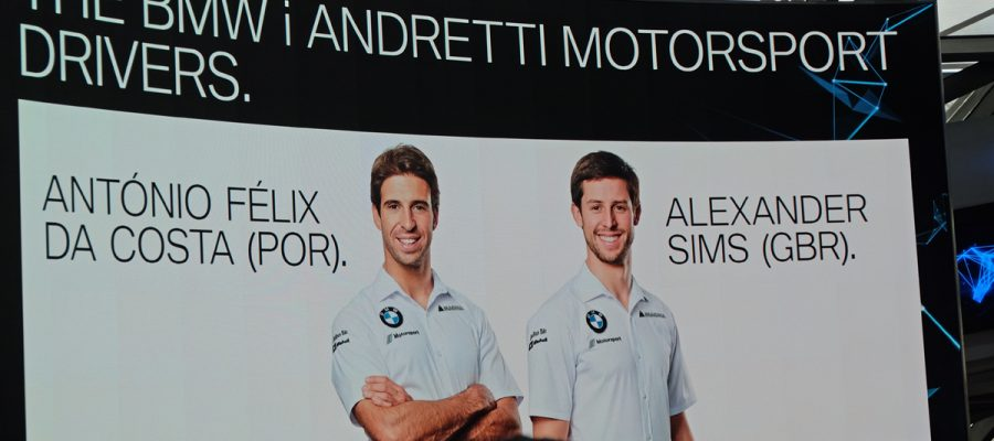 Formel E BMW i Präsentation