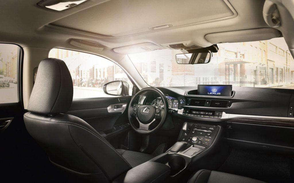 Lexus CT 200h - Copyright Toyota/Lexus