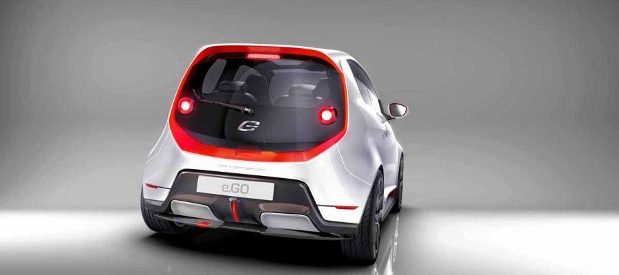 e.GO Life Concept Sport - Copyright e.GO Mobile AG
