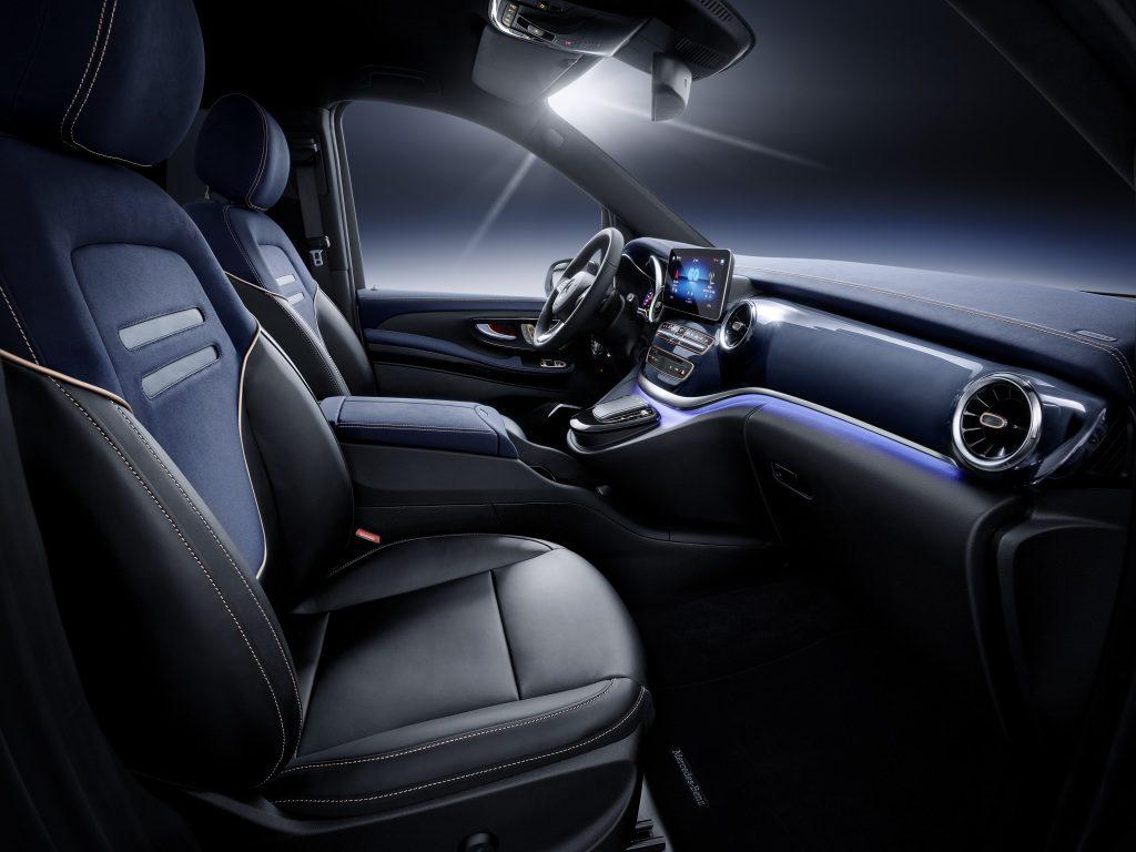 Weltpremiere Concept EQV: Mercedes-Benz zeigt Ausblick auf die elektrische Zukunft der Premium-Großraumlimousine  - Copyright Daimler Mercedes Benz