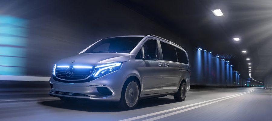Weltpremiere Concept EQV: Concept EQV: Mercedes-Benz zeigt Ausblick auf die elektrische Zukunft der Premiere - Copyright Daimler Mercedes Benz