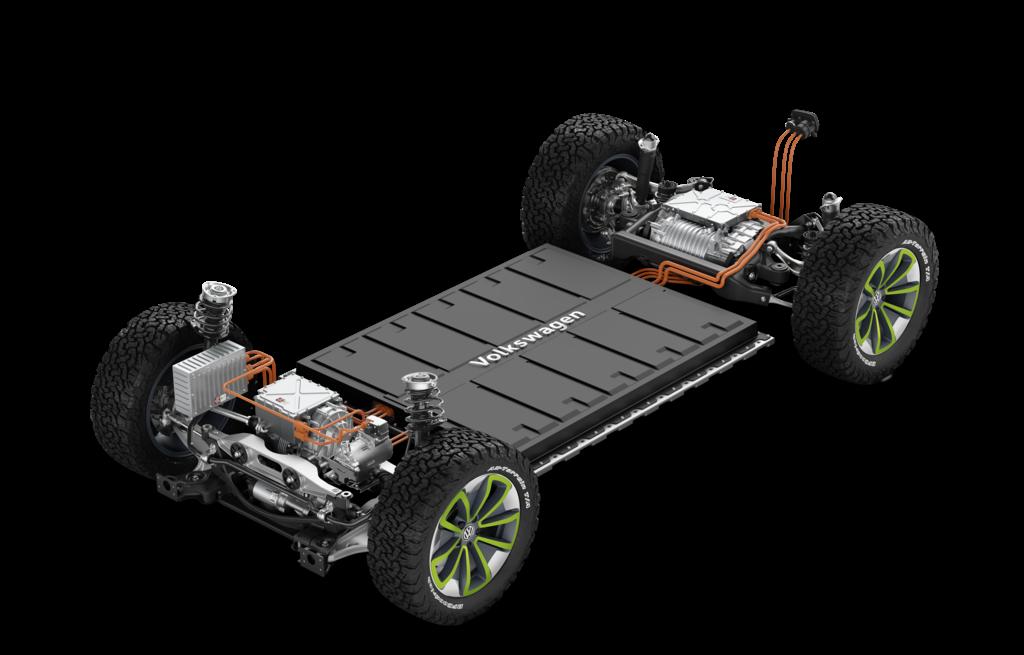 Modularer Elektrifizierungsbaukasten - Copyright Volkswagen
