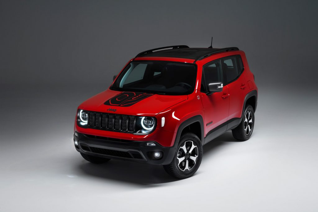 Jeep Renegade Plug-In-Hybrid - Copyright Jeep
