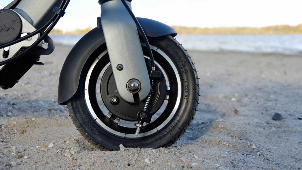 Vorderachse E-Scooter