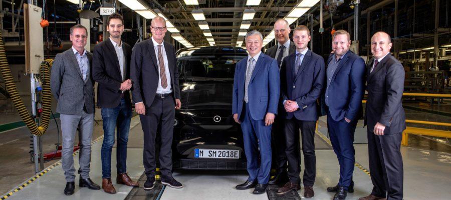 Team NEVS und Sono Motors in Trollhättan - Copyright Sono Motors