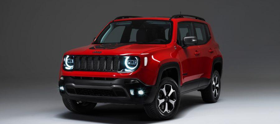 Jeen Renegade Plug-In-Hybrid - Copyright Jeep