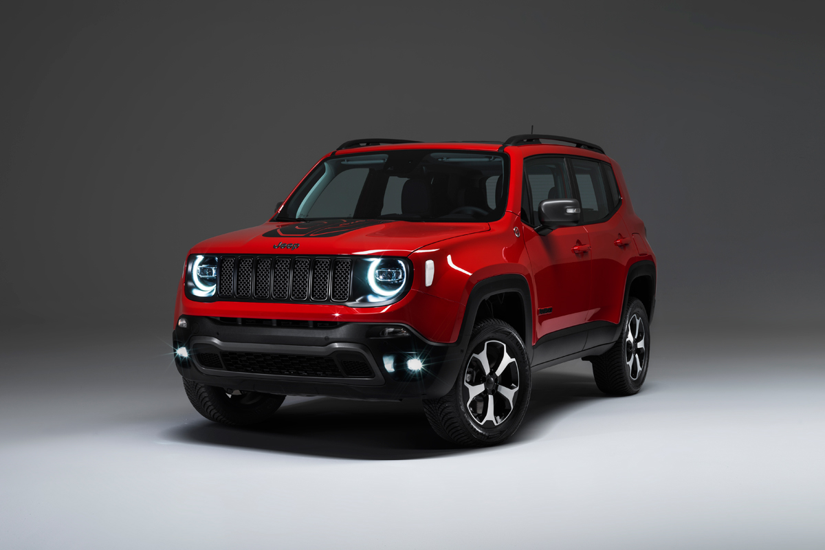 Jeen Renegade Plug-In-Hybrid - Copyright Jeep